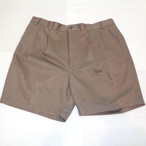 Roundtree & Yorke ELASTIC WAIST Brown Shorts